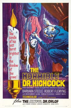 335. The Horrible Dr. Hitchcock (1962) #26 in the 31 Horror Films I Haven't Seen Month.