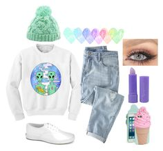 """""""Sin título #288"""" by abigail-15-love on Polyvore featuring moda, Chicnova Fashion, Wrap, Keds, Kate Spade y Forever 21"""