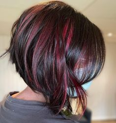 Are you a fan of bob haircuts? A lot of women love them since they are so low-maintenance while being so gorgeous, effortless, and easy to style. If y... Asymmetrical Bob Haircuts, Bob Haircuts For Women, Short Hair With Layers, Great Hair, Short Hair Styles, Bob Cuts, Hair Cuts, Sad Art, Hair Ideas