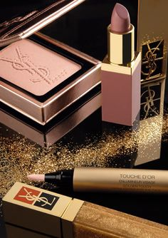 ♔ Yves Saint Laurent Metallic Colorama Collection for Holiday