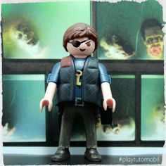 Playmobil Governor - #thewalkingdead #playmobil #playtutomobil #governor