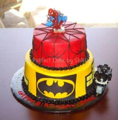 The Perfect Cake By Shirley  Spiderman/Batman