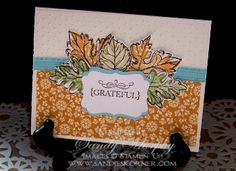 SUO Gently Falling Stamp Set Stampin Up Holiday Mini Spice Cake Designer paper