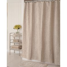 Lenox French Perle Shower Curtain - Overstock Shopping - Great Deals on Lenox Shower Curtains