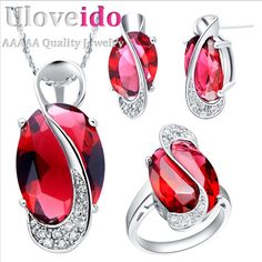 Find More Jewelry Sets Information about Sapphire Jewelry Set CZ Diamond Silver Plated Zircon Set Bijoux Fashion Crystal Jewelry for Engagement Wedding Anniversary T156,High Quality jewelry deco,China jewelry circle Suppliers, Cheap jewelry emerald from ULove Fashion Jewelry Store on Aliexpress.com