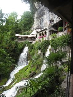 St. Beatus Caves, Interlaken. I hate that I lived in Switzerland for two years and just learned about this place.