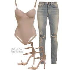 A fashion look from March 2016 featuring Yves Saint Laurent jeans. Browse and shop related looks.