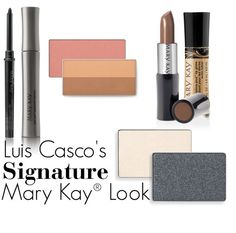 Trying for celebrity makeup artist Luis Casco's signature look? These Mary Kay® products will help you achieve the look you're going for! #MKMakeover