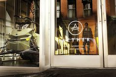 A sq ft space, AETHERnyc is located in Soho and carries the brand's full collection, both men's and women's, as well as select gear from third parties Soho, Brooklyn, Nyc, New York, Boutiques, Manhattan, Shopping, Design, Style