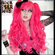 I found 'Gothic Lolita Wigs, Atomic Love Affair Blended Wig' on Wish, check it out!