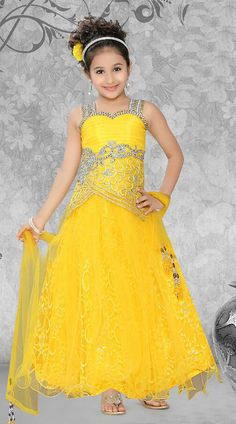 Latest Stylish Gown For Little Girls 2015-2016
