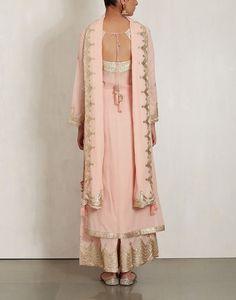 Pink Cotton Mul Kurta Set-SUKRITI & AAKRITI- img3