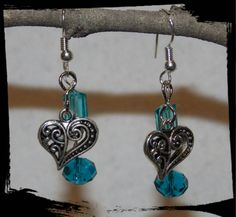 Check out this item in my Etsy shop https://www.etsy.com/listing/231392222/two-blue-hearts