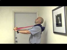 Correctional Exercise to Restore Normal Curve in Neck from Forward Head Posture / Dr Mandell - YouTube