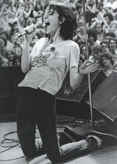 Patti Smith by Bob Gruen
