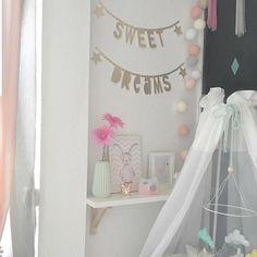 Eine wundervolle Kinderzimmer Deko mit good moods von der lieben @meandpaulina! Vielen Dank für dieses hübsche Foto! Liebe Grüße - Euer good moods Team #good__moods #lichterkette #goodmoods #stringlights #kids #kidsroom #toddler #decoration #weekend #wochenende #bed #saturday #samstag #abend #2016