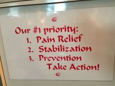 The picture says it all. Take Action, Chiropractic, Priorities, Pain Relief, Halo, Sayings, Quotes, Beautiful, Quotations