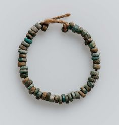 String of beads. Egyptian, New Kingdom, 1550-1070 B.C.