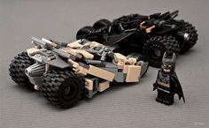 Batman LEGO Tumbler Replica