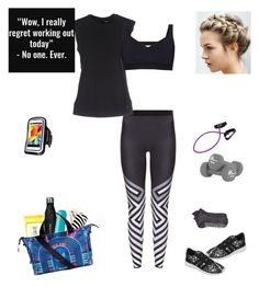 """I Need To Workout!"" by sereneowl ❤ liked on Polyvore featuring adidas, Ultracor, Burt's Bees, The Beach People, Sweaty Betty, Mara Hoffman and Samsung"
