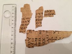 eBay item number:222124473764 Greek-Roman Or Coptic Rare Egyptian PAPYRUS TEXT FRAGMENTS Material:ancient papyrus text Provenance:FOR STUDY PURPOSE ebuyerrrr Starting bid $ 1,500 22/5/2016