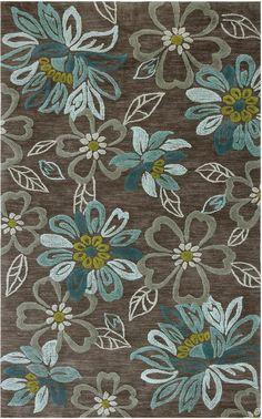 modernrugs.com daisy chain modern floral rug