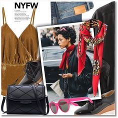 Pack for NYFW by svijetlana on Polyvore featuring moda, Citizens of Humanity, Givenchy, NYFW and zaful