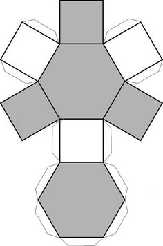 Hexagonal cutout drawing geometric figures - 卡纸手工 - Welcome Haar Design Cement Art, Concrete Crafts, Concrete Projects, Concrete Pots, Concrete Design, Origami Geometric Shapes, Diy And Crafts, Paper Crafts, Ideias Diy