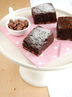Nigella Lawson's Everyday Brownies - makes a dense, fudgy brownie