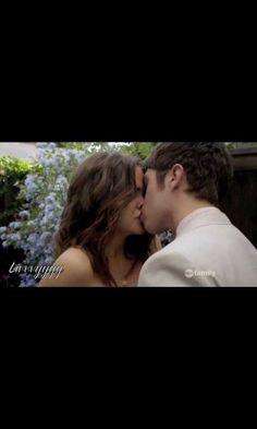 Their first kiss!