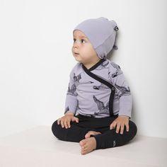 JOUTSEN vauvan kietaisubody, laventeli - musta   NOSH verkkokauppa