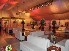 Wedding Tent for Sale | Frame Tent | Aluminum Tent | Clear Span Marquee | Inside Decoration