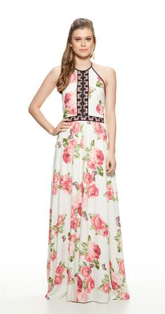 Só na Antix Store você encontra Vestido Longo Rosa de Borboleta com exclusividade na internet