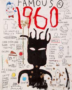 Jean-Michel Basquiat : More At FOSTERGINGER @ Pinterest️