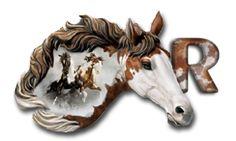 Alfabeto realista de caballos.   Oh my Alfabetos!