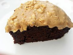 This peanut butter frosting is perfect for your chocolate cake! The texture is super creamy and smooth!