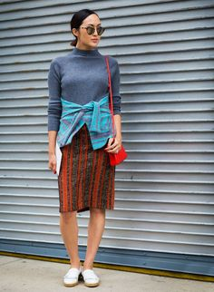 What Stylish People Will Spot First About Your Outfit via @WhoWhatWear