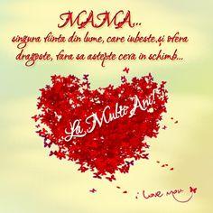 Happy Birthday Mom, Happy Birthday Quotes, 8 Martie, 8th Of March, Kindergarten, Motivation, Adele, Anna, Heart