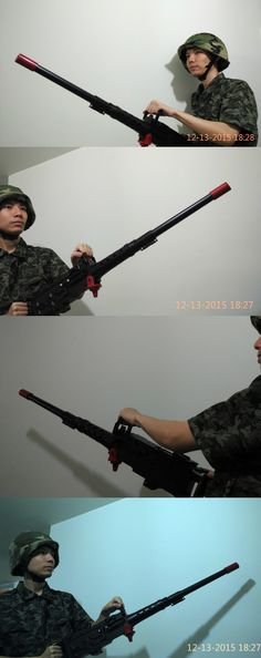 Other Airsoft 31688: M2hb Dummy Toy Prop Costume Cosplay Film Model M2 Browning Machinegun Water Gun BUY IT NOW ONLY: $86.0