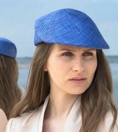 leichte Kappe, Cap, Must-have, Lifestyle,traumhaft,exklusiv hochwertig stylisch Designermode Sommer Hand gearbeitet, Summer, Womens Hut, Lou