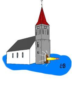 Spreekwoord: de kogel is door de kerk