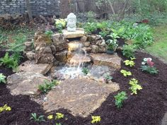 Simple, yet beautiful pondless waterfall.