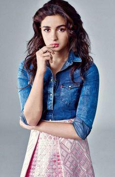 Alia Bhatt Harper's Bazaar magazine July 2015 #photoshoot. #Bollywood #Fashion #Style #Beauty