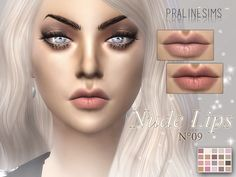 New cosmetics for your sims! Your sims will love their new look ;) Found in TSR Category 'Sims 4 Female Lipstick'
