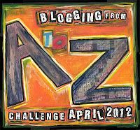 Day #1 of the A to Z Blog Challenge