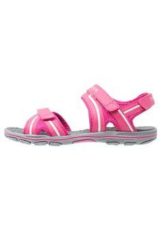 BREEZY  - Sandalias de senderismo - pink/white