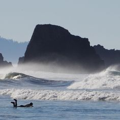 """My photo """"Stormy Morning"""" Indian Beach, Ecola State Park, Cannon Beach, North Oregon Coast."""