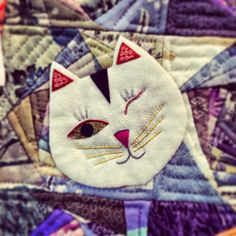 Adorable applique quilt - From Tokyo International Quilt Show 2014 - My Craft Land Diary
