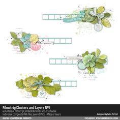 Filmstrip Clusters and Layers No. 01- Katie Pertiet Elements- EL707219- DesignerDigitals #digitalscrapbooking #designerdigitals #cluster #design #download #scrapbooking