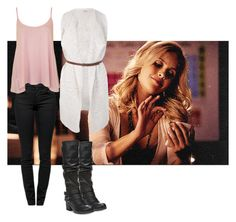 A fashion look from December 2015 featuring waterfall cardigan, summer tank tops and skinny fit jeans. Browse and shop related looks. Gossip Girl Outfits, Mom Outfits, Stylish Outfits, Spring Outfits, Dress Outfits, Cute Outfits, Nyc Fashion, Fashion 101, Fashion Outfits